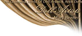 Mary Benner Dolls · Cherished Collectibles · Antique Replicas · Victorian Lady Dolls · One Of A Kind OOAK Porcelain and Wax Over Porcelain Artist Dolls
